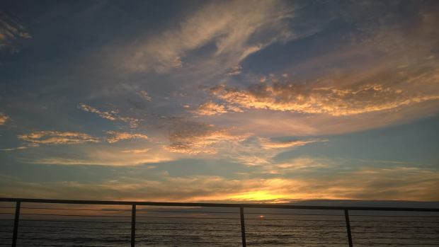 Sunset 8-27