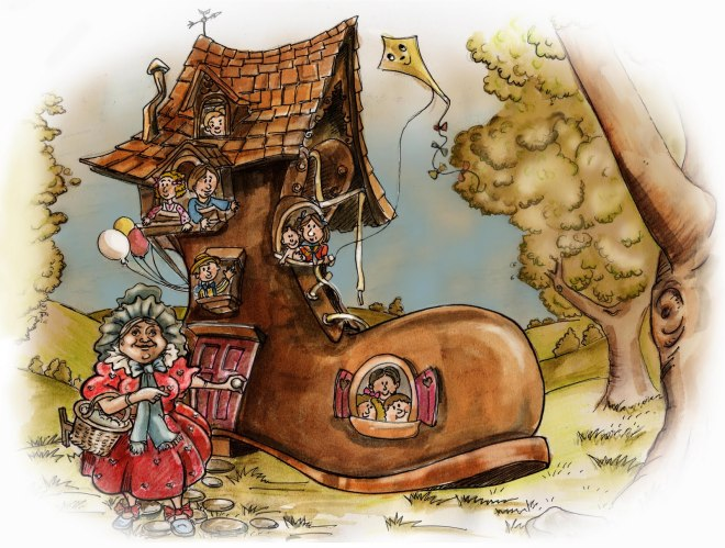 Old Lady who lived in a shoe